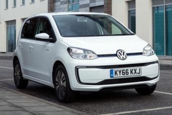 大众发布新款e-up 新车支持纯电行驶260Km