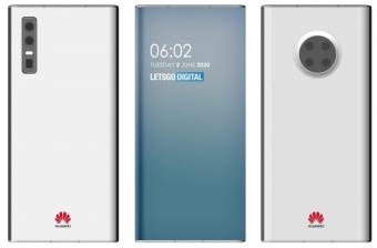 华为屏下摄像头手机专利曝光:无边框设计加持 类似瀑布屏设计