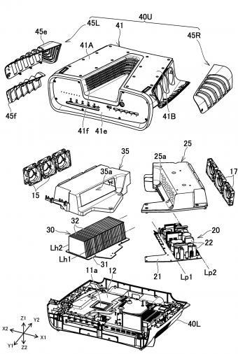 索尼 PS5 开发机设计图曝光:V 字形设计 助其快速散热
