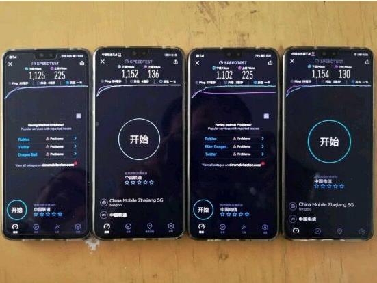中兴通讯与浙江联通完成5G NSA&SA双模共建共享商用验证 采用四个终端测速