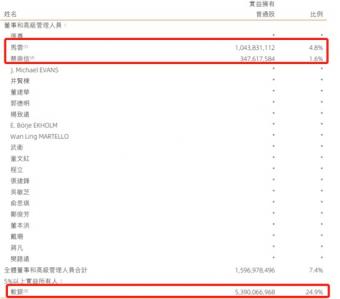 蚂蚁金服持股曝光:马云持股约 8.8% 持有市值为137 亿美元