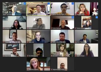 天九共享平台助力墨西哥企业进入中国 戈峻参加跨国会议分享天九抗疫经验