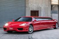 """200万元!法拉利360超级加长版出售:行驶里程65000公里 车内似""""夜店"""""""