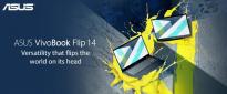 华硕发布 VivoBook Flip 14 翻转本 搭载 R7 4700U售约4200 元