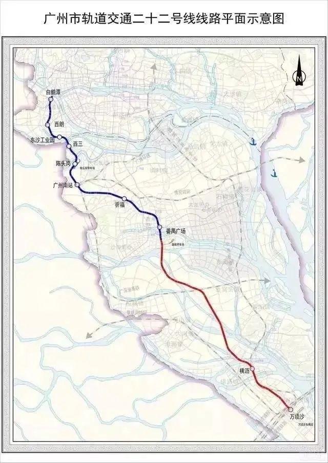广州地铁 22 号线将延伸至深圳 全线土建工程已完成 57%