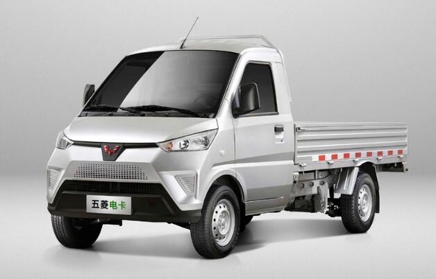 五菱电卡及五菱电卡货柜正式上市 定位微型卡车