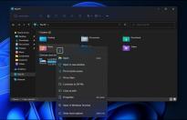 Windows 11:右键菜单功能升级 针对触摸设备进行优化