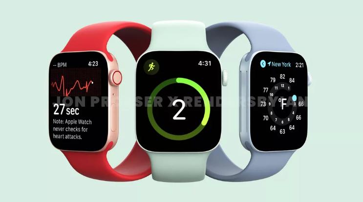 苹果Apple Watch 7传闻汇总:上市时间/价格/功能/ 新手表或加大尺寸