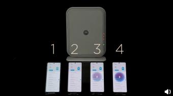 新一代摩托罗拉隔空充电技术亮相:演示视频显示3米以上手持充电