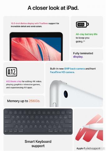 iPad 9遭提前泄露:更换为10.5英寸全贴合屏幕 配置与iPad Air 3一致
