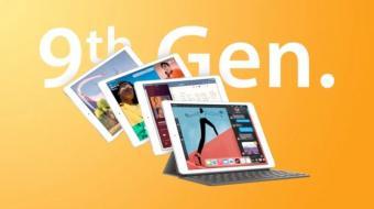 苹果iPad 9宣传图片曝光:搭载Touch ID和Home键 配置新增256GB版