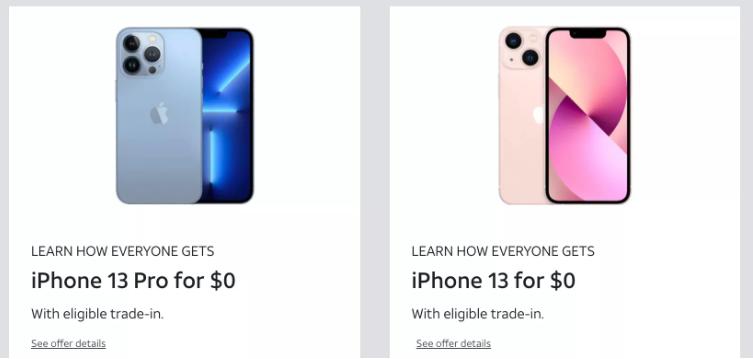 """在Verizon、T-Mobile等购买""""免费""""iPhone13,你需要知道什么"""