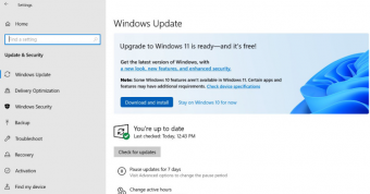 Win10预览版用户收到Win11升级提示  Win11已进入Release Preview通道