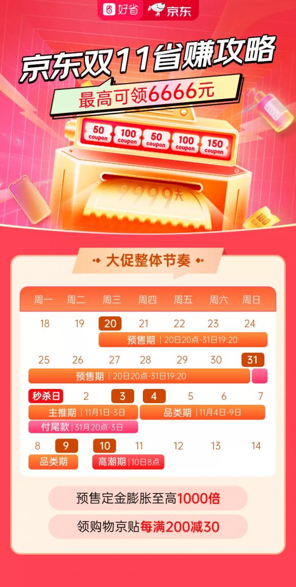 双十一来了!好省助力京东11.11购物狂欢趴!